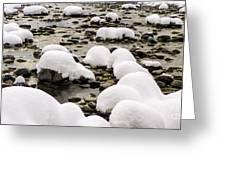 Rhine Winter Greeting Card