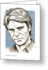 Richard Dean Anderson Color Greeting Card