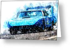 Richard Petty Superbird Greeting Card