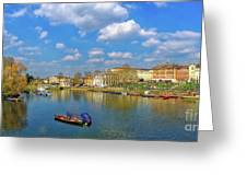 Richmond Upon Thames - Panorama Greeting Card