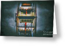 Ride The Ferris Wheel Greeting Card