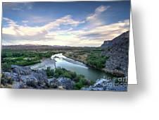 Rio Grand River Greeting Card