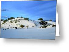 Rippled Sand Dunes In White Sands National Monument, New Mexico - Newm500 00119 Greeting Card