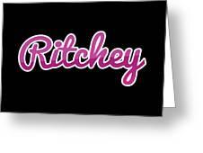 Ritchey #ritchey Greeting Card