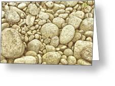 River Carpet Greeting Card