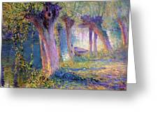 River Epte Giverny 1910  Greeting Card