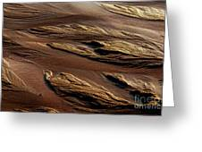 River Of Sand Greeting Card
