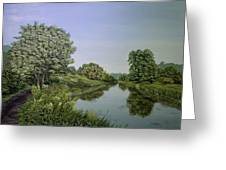 River Wey Greeting Card