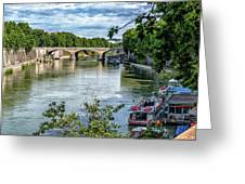 Riverboats Greeting Card