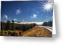 Road To Durango Greeting Card