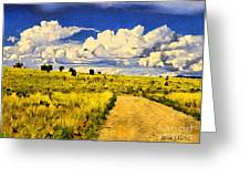 Road To Nowwhere Greeting Card
