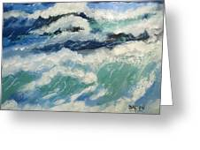 Roaring Ocean Greeting Card