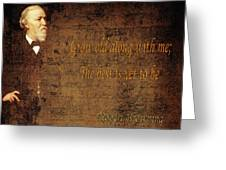 Robert Browning 1 Greeting Card