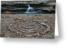 Rock Circle Greeting Card