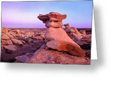 Rock Formations, Bisti Badlands, New Greeting Card
