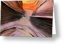 Rock Formations, Vermillion Cliffs Greeting Card