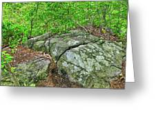 Rock On Green's Hill Greeting Card