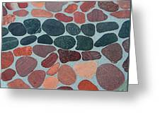 Rocks Sawed And Polished Greeting Card