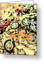 Rocky Racers Greeting Card