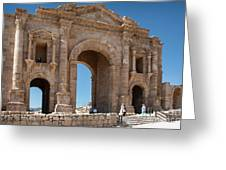 Roman Arched Entry Greeting Card by Mae Wertz