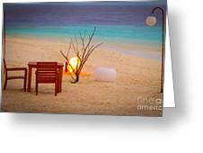 Romantic Beach Greeting Card