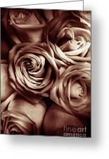 Rose Carmine Greeting Card