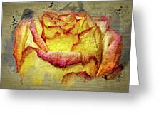 Rose Painting Greeting Card