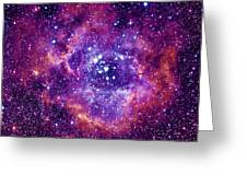 Rosetta Nebula Greeting Card