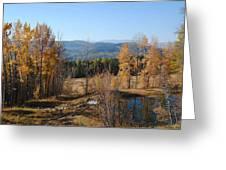 Rural Montana Greeting Card