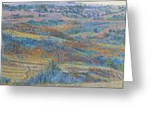 Russet Ridge Reverie Greeting Card