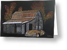 Rusty Autumn Colours Greeting Card by Richard Le Page