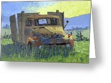 Rusty Sunrise Greeting Card by David King