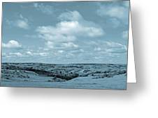 Sailing Over Slope County Greeting Card