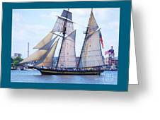 Sailing With Pride Greeting Card