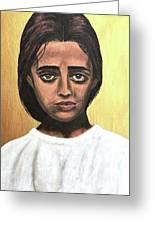 Saint Maria Goretti Greeting Card