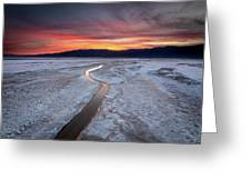 Salt Creek Flats Greeting Card