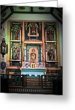 San Gabriel Mission No. 2, High Altar Greeting Card
