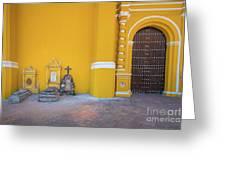 San Gabriel Tombs Greeting Card