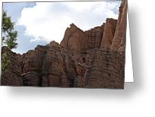 Sandstone Hoodoos Greeting Card