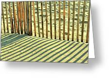 Sandy Pinstripes Greeting Card
