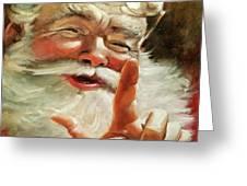 Santa 2017 Greeting Card