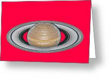 Saturnian Image 2 Greeting Card