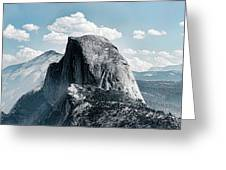 Scenic View Of Rock Formations, Half Greeting Card