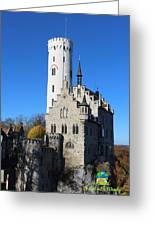 Schloss Lichtenstein Greeting Card