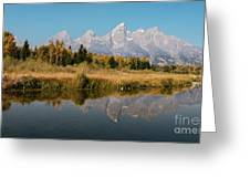 Schwabacher's Landing Greeting Card