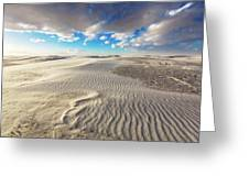 Sea Of Sand - Endless Dunes At White Sands New Mexico Greeting Card
