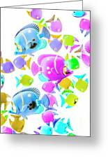 Sea Swimmers Greeting Card