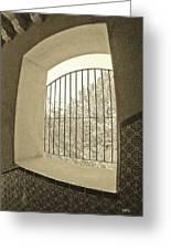 Sedona Series - Through The Window Greeting Card
