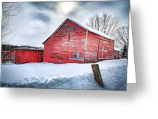 See Red. Greeting Card by Kendall McKernon