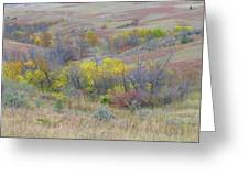 September Perfection On The Western Edge Greeting Card